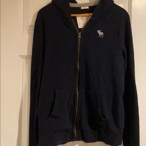 Men's classic Abercrombie hoodie waffle tee